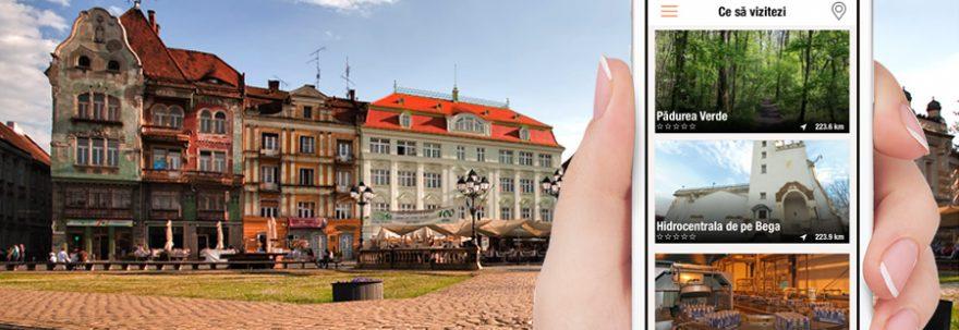 Atracțiile turistice ale Timișoarei accesibile pe smartphone