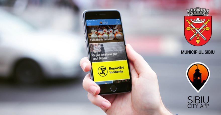 Primăria Municipiului Sibiu extinde aplicația Sibiu City App cu un modul destinat raportării problemelor din oraș