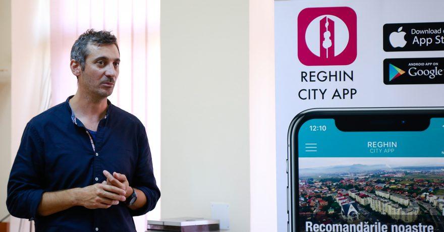 Lansare Reghin City App
