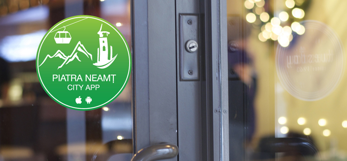 Piatra Neamt City App sticker