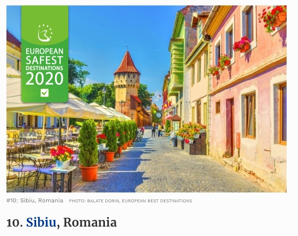 Sibiu Safe Place to Travel